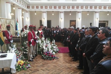 Cuerpo de Rodolfo Illanes ya es velado en Palacio