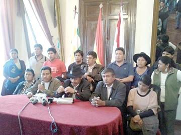 El MAS en Chuquisaca culpa a dirigentes mineros