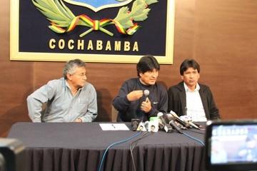 """Evo Morales dice que """"el Gobierno ha derrotado un golpe de Estado"""" tras conflicto minero"""