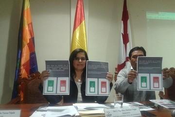 TED Chuquisaca presenta papeleta de los municipios que irán a referéndum