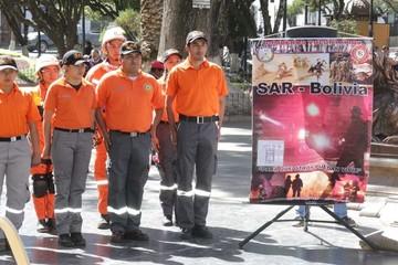 Voluntarios del SAR celebraron aniversario