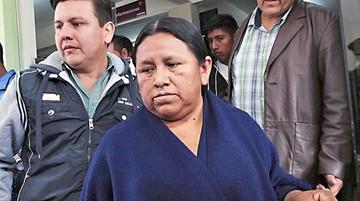 Piden arresto domiciliario de ex ministra Achacollo