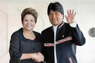Evo respalda en Twitter a presidenta Dilma Rousseff