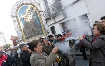 """La """"Mamita"""" es trasladada a la Catedral"""