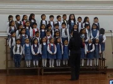 Kinder Jaime Mendoza celebra 206 años de vida con un concierto