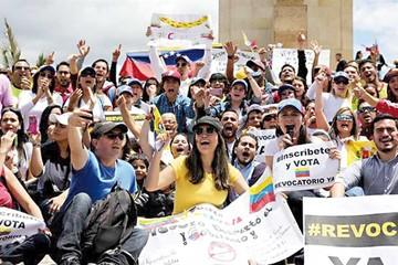 Protesta contra Maduro termina con detenciones