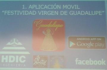 Con una aplicación móvil puede conocer detalles de la Festividad de la Virgen de Guadalupe
