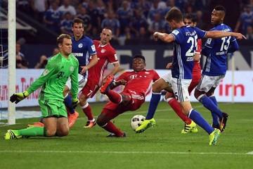 Bayern derrota al Schalke