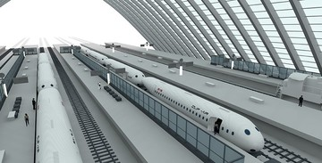 Así será el 'avio-tren'