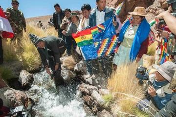 Silala: Evo propone visita conjunta a su par chilena