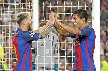 Barcelona golea al Celtic