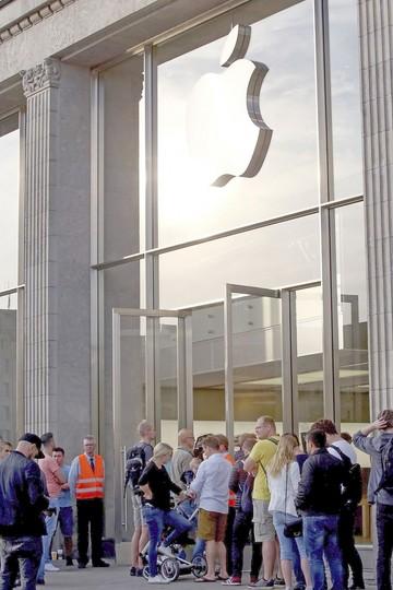 Largas filas para comprar el iPhone 7 en varios países