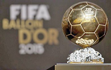 FIFA se aparta de la entrega del Balón de Oro