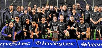 Trono del rugby vuelve a manos de Nueva Zelanda