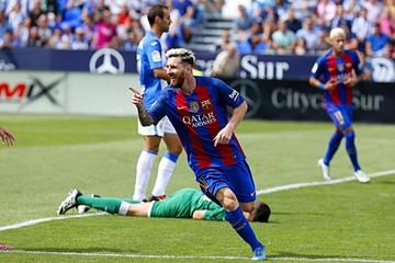 Messi y Suárez acaban con la  ilusión del Leganés
