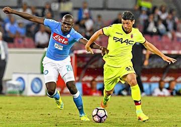 El Nápoles vence  al Bolonia y  lidera la Serie A