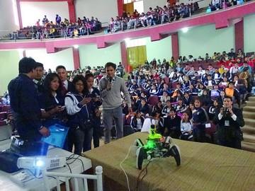 """Sucre, """"capital de la juventud de Bolivia"""""""