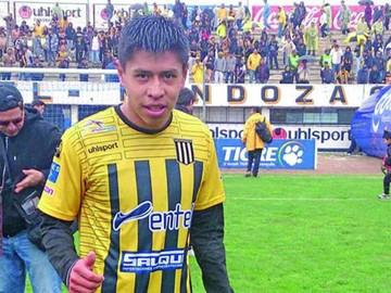 Diego Wayar, baja por más de un mes en The Strongest