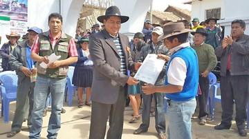 Saneamiento: 42% de avance en El Villar