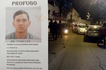 Policía revela identidad del prófugo que protagonizó balacera en Sucre