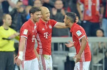 Bayern Munich golea al Hertha