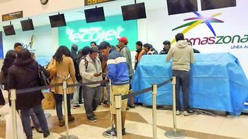 Aeropuerto Alcantarí no soportó una granizada