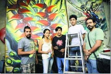 La contracultura  y las letras reúnen  a diversos artistas