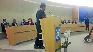Evo denuncia a la ONU violación de DD.HH. de los transportistas