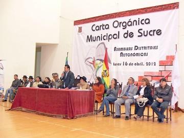 Carta Orgánica rumbo al referéndum