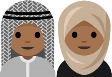 Una adolescente pide un emoji con velo islámico