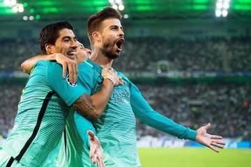 Champions: Barcelona y PSG remontaron, City empató en Glasgow y el Bayern cae en Madrid