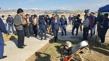 Inauguran aeropuerto Juana Azurduy como terminal presidencial