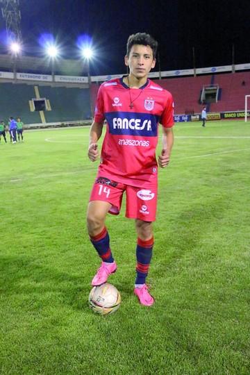 Nahuel Vaca Quiere debutar en la Liga