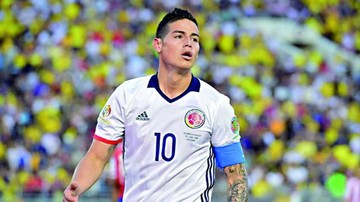 James Rodríguez se lesiona y preocupa en Colombia