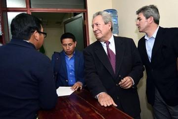 """Evo Morales dice que el periodista Humberto Vacaflor """"queda perdonado"""""""