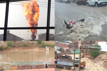 Lluvia vuelve a desnudar debilidades en el municipio de Sucre