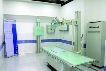 Entregan equipo de rayos x al hospital Santa Bárbara