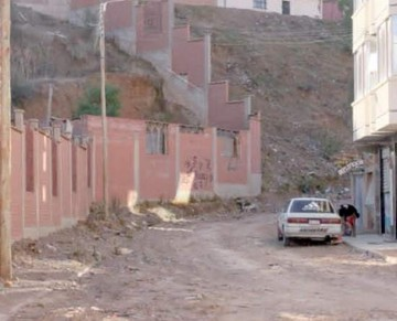 La temporada de lluvias provoca pánico en algunas zonas de Sucre