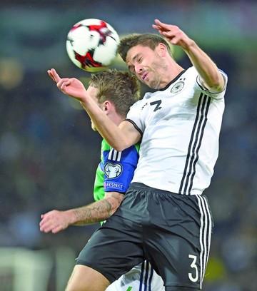 Alemania prolonga su buena racha en las eliminatorias