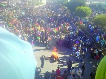 El cabildo de El Alto exige honrar agenda de octubre