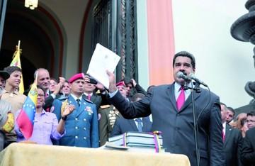 Maduro elude la Cámara y aprueba el presupuesto