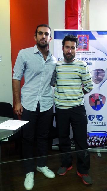 Squash se refuerza con entrenadores internacionales