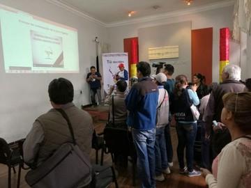 Presentan portal oficial en internet de la Carta Orgánica de Sucre