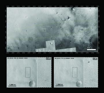 El Schiaparelli se estrelló contra Marte al aterrizar