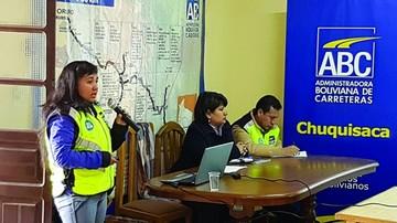 Invierten Bs 2.010 millones en caminos de Chuquisaca
