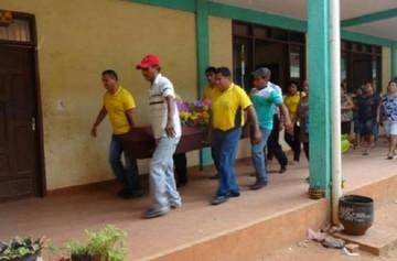 San Matías despidió con dolor y llanto a las víctimas de balacera