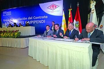 Repsol amplía su contrato en Caipipendi hasta 2046