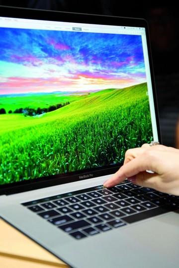 Apple apuesta por una barra táctil en MacBook