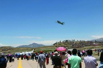 Feria aérea gustó y llenó el aeropuerto de la FAB
