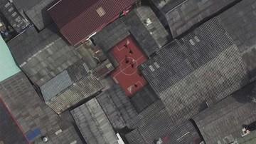 Canchas asimétricas en barrios pobres de Tailandia